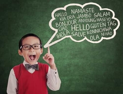 Ребенок с правильной речью