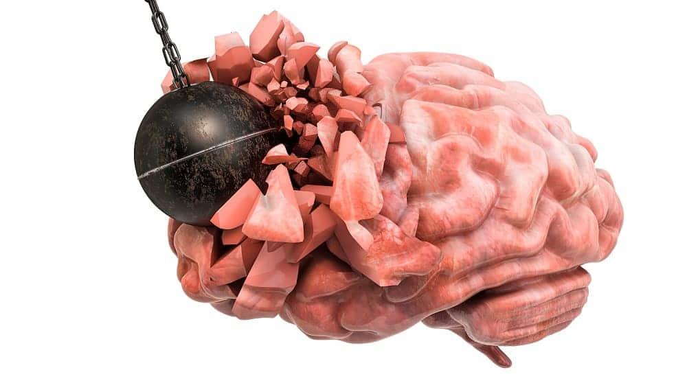 Разрушение мозга энцефалопатией