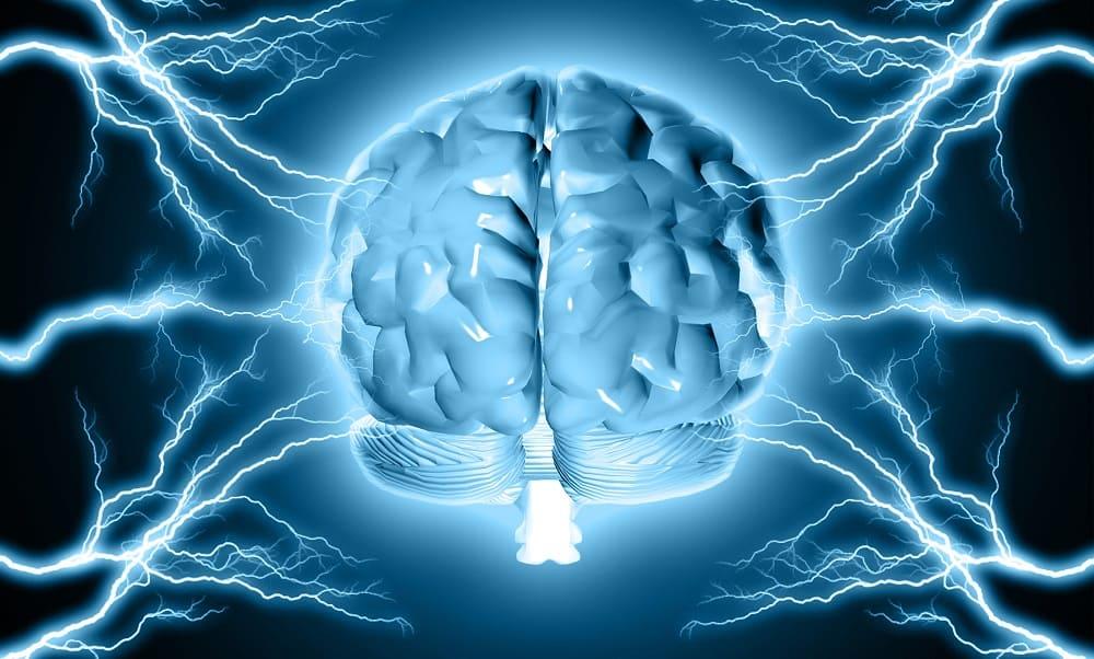 Электричество действует на мозг