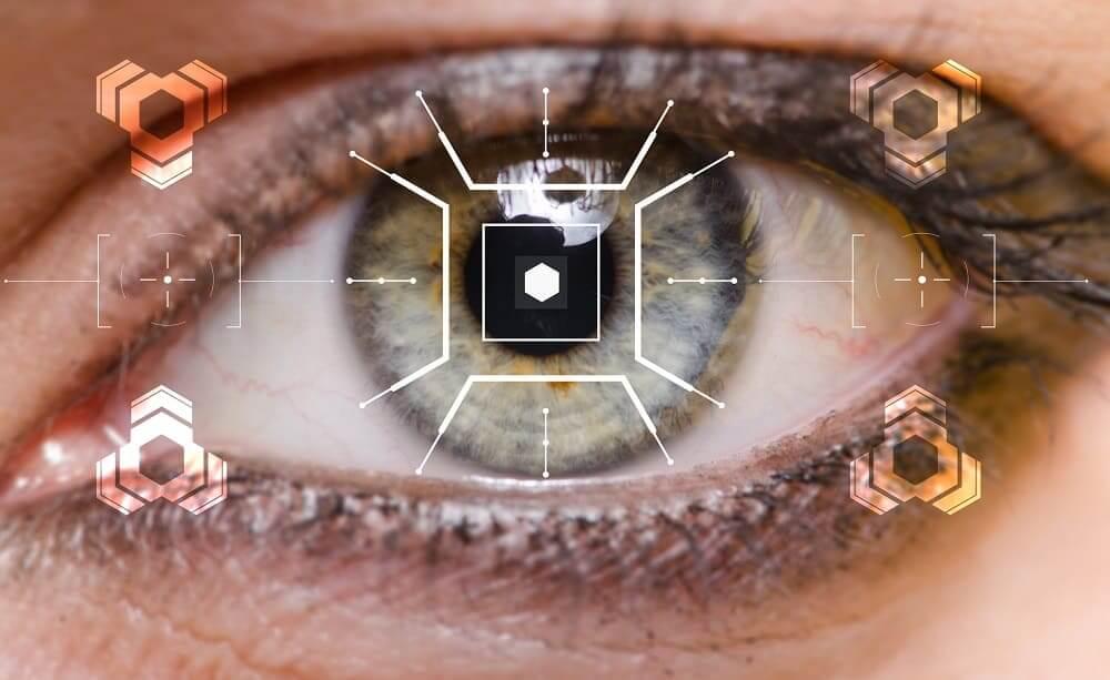Концепт внедрения кибернетики в глаз