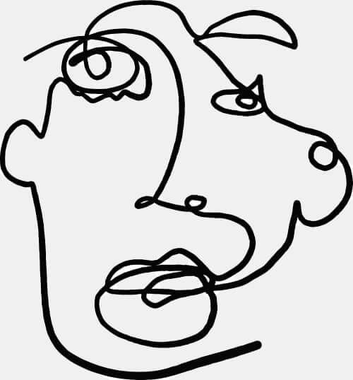 Пример рисунка ребенка с мозговой дисфункцией
