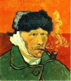 Ван Гог с отрезанным ухом