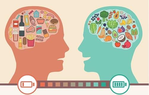 Здоровая пища заряжает мозг