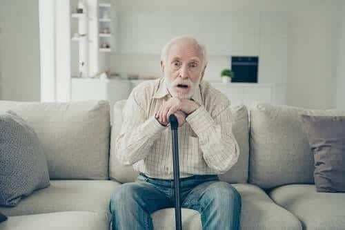 Страдания больного Альцгеймером