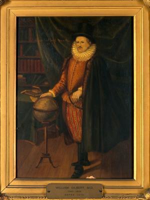 У. Гильберт - портрет английского физика