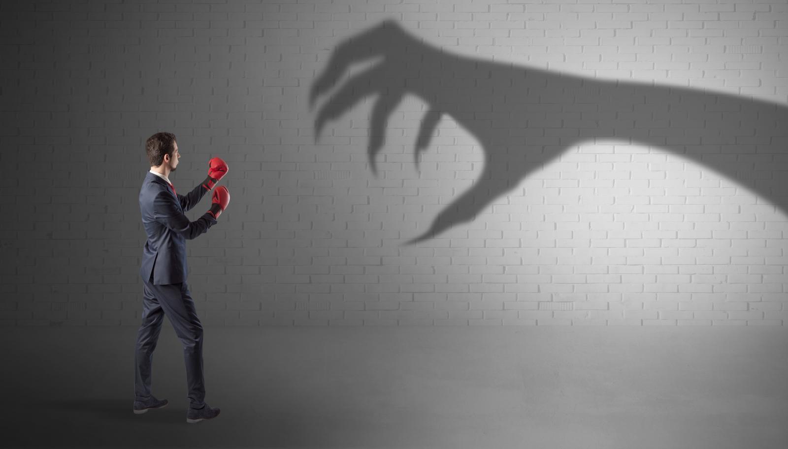Представьте свой страх в виде предмета,