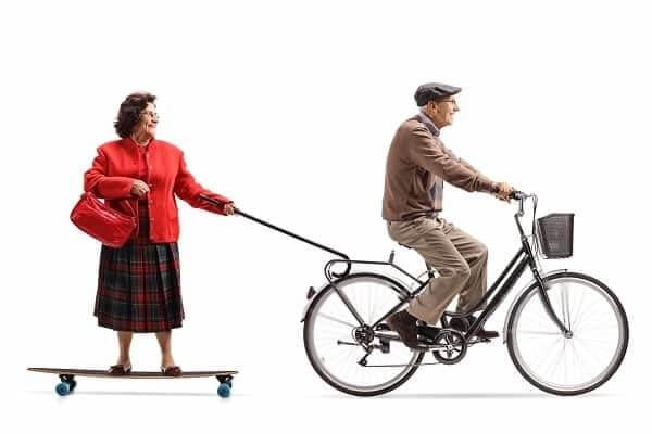 Велосипед полезен при Паркинсоне