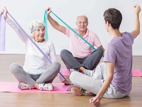 ЛФК для пожилых людей - болезнь Паркинсона