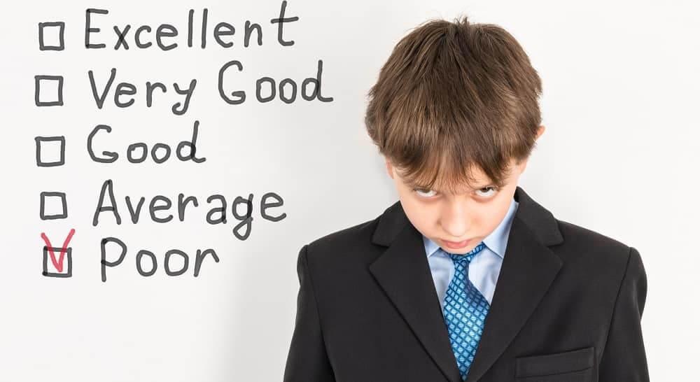 Плохая успеваемость у детей с ЗПР