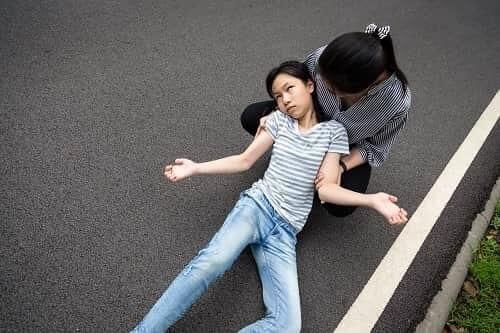 Атонический приступ у девочки