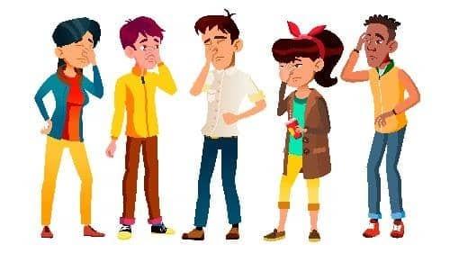 Симптомы ауры мигрени у подростков