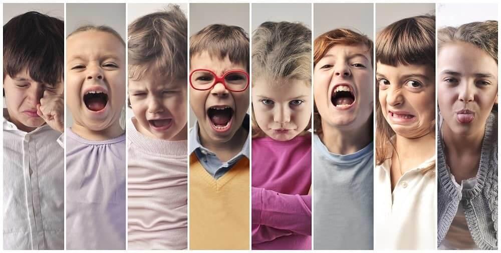 Быстрая смена эмоций у детей с ЗПР