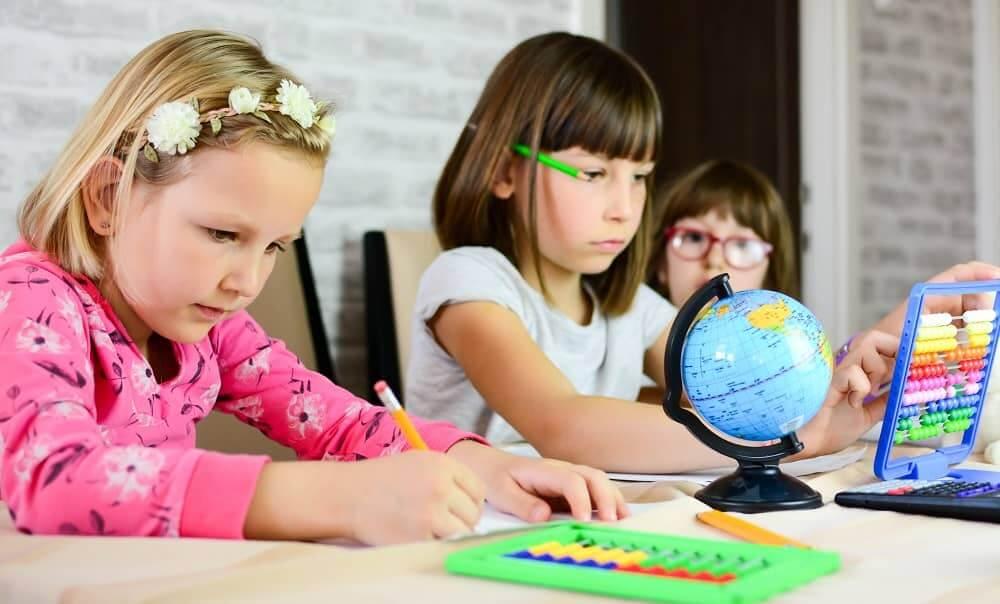 Дети с ЗПР учатся в начальнй школе