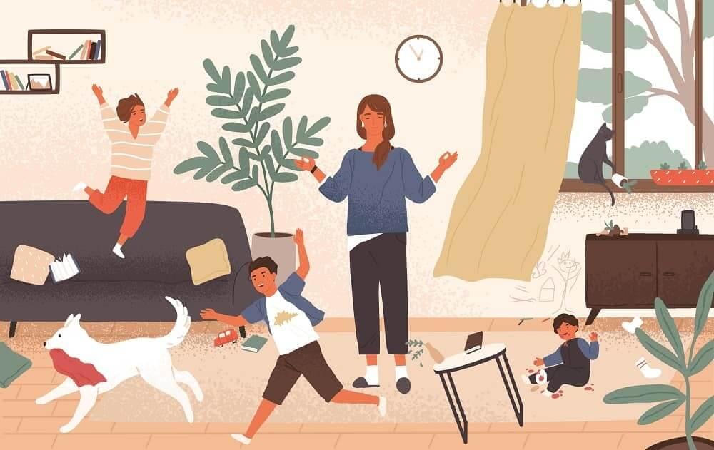 Гиперактивные дети в семье