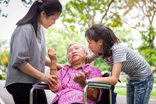 Эпилептические судороги у пожилой женщины