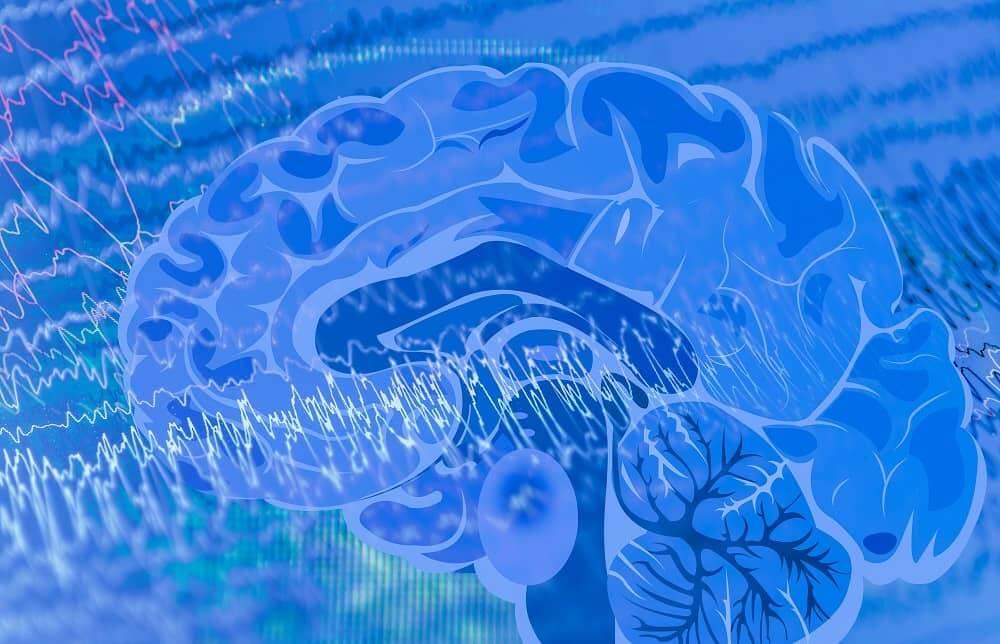 Мозг генерирует электрические импульсы