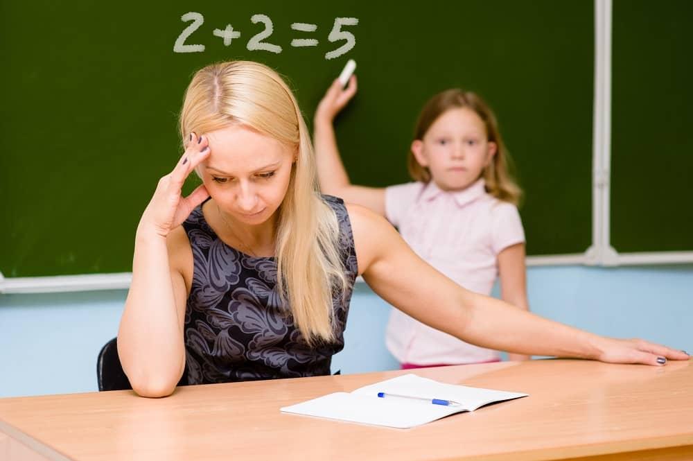 Отстающий в школе ребенок с ЗПР