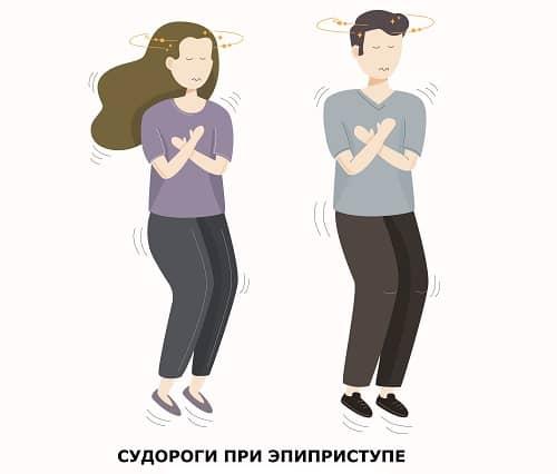 Судороги подростков при эпилепсии