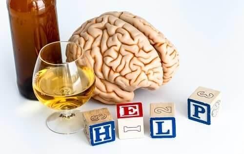 Мозг просит о помощи от алкоголя