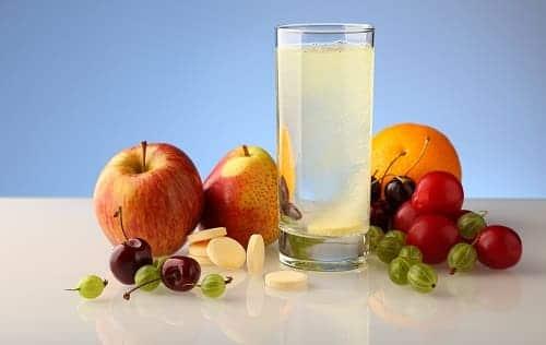 При мигрени полезно много аоды и витаминов