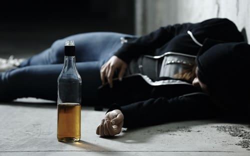 Припадок эпилепсии от алкоголя может убить