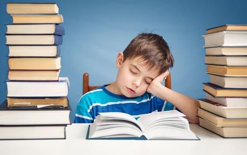 Мальчик ощутил приступ усталости
