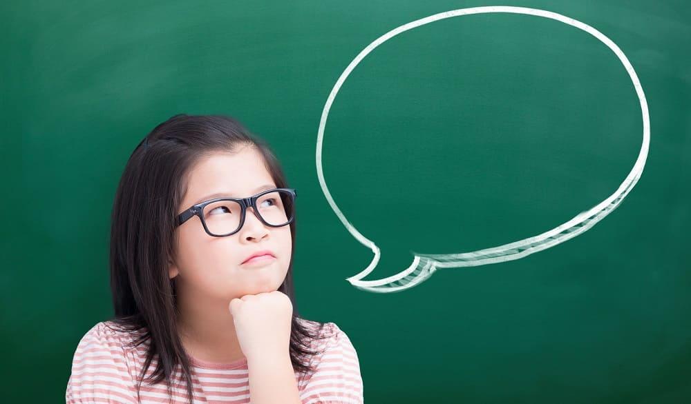 У девочки проблемы с речью