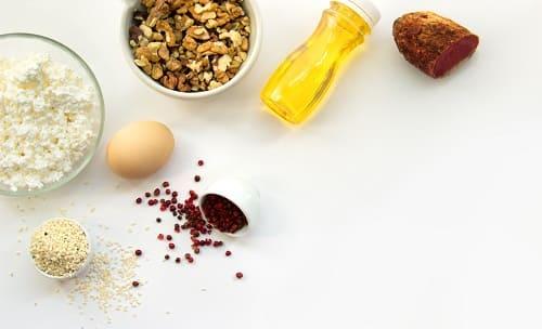 Набор продуктов для здорового питания