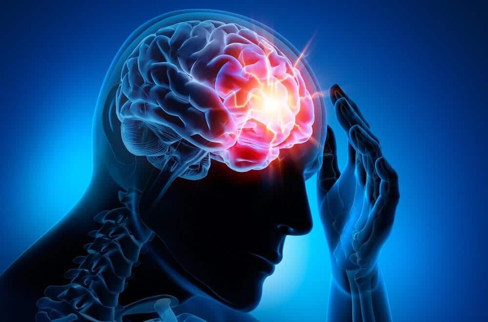 Очаг эпилептической активности в лобно-височной доле