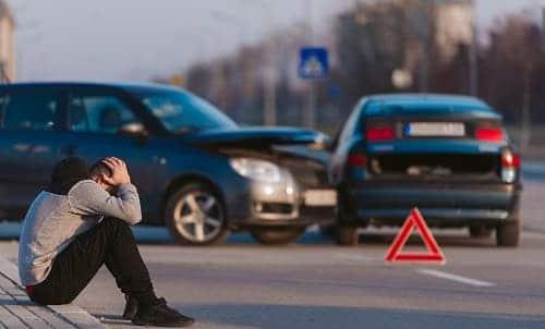 Плохое самочувствие у водителя на фоне аварии