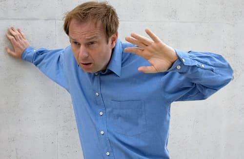У мужчины приступ гловокружения от ВСД