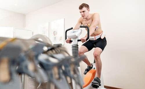 Велотренажер для занятий ЛФК и дозирования нагрузки
