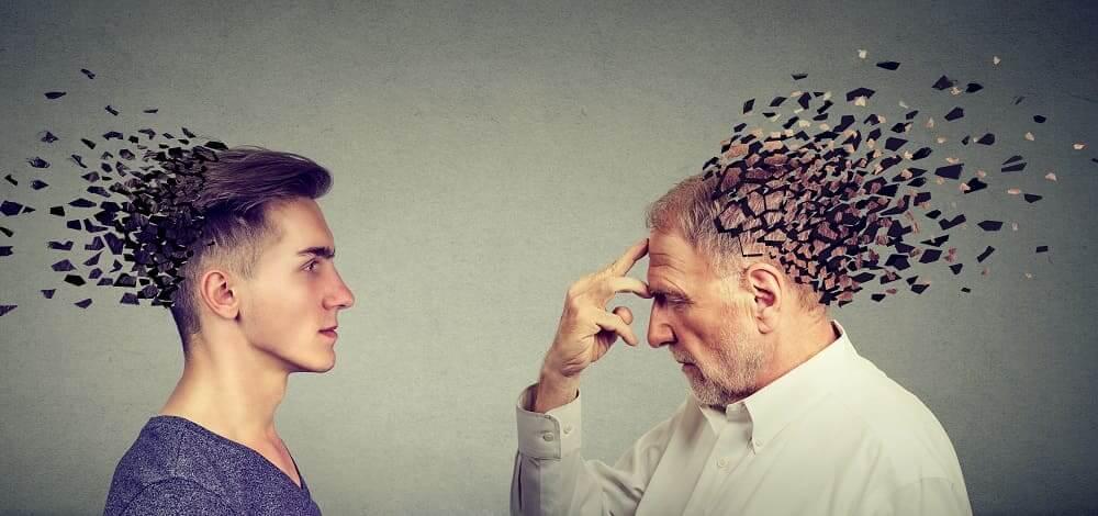 Деменция бывает и у молодых и пожилых