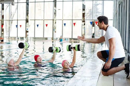 Занятия плаванием – комплекс ЛФК
