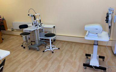 Кабинет офтальмолога в клинике восстановительной неврологии
