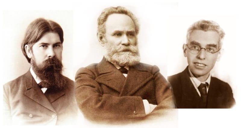 Бехтерев Павлов Лурия