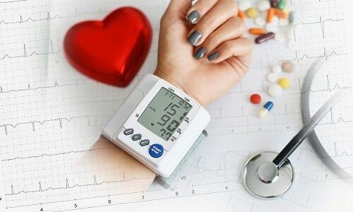 Измерение давления ЭКГ для подтверждения ВСД