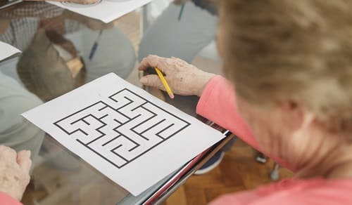 Тест на Альцгеймера пройти лабиринт