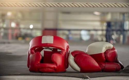 Защитный инвентарь для бокса