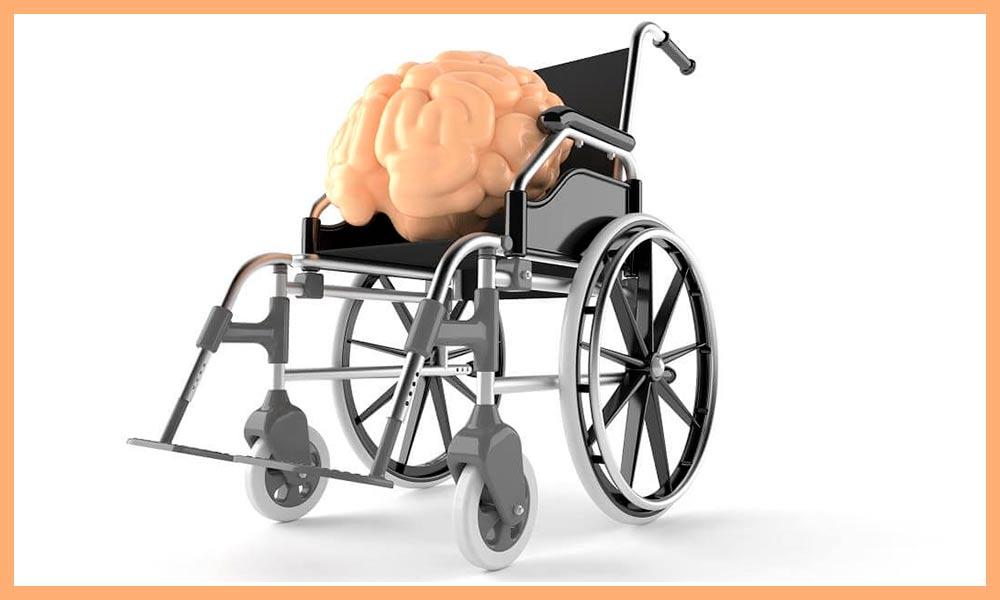 Мозг в инвалидной коляске