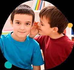 У ребенка улучшается речь