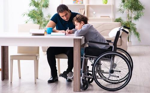 Занятия дома с ребенком инвалидом