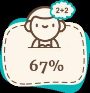 67% детей возвращаются в обычные школы