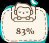 У 83% детей стабилизируется сон