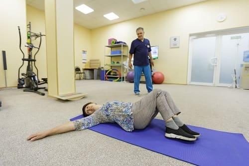 Лечебная физкультура в лечении ВСД и остеохондроза