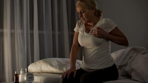 Ночной приступ ВСД с болью в сердце