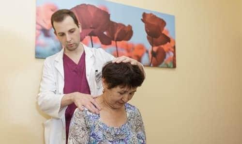 Осмотр пациентки при климаксе
