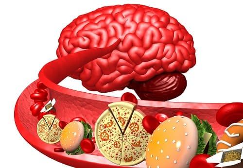 Вредная пища ухудшает проходимость сосудов