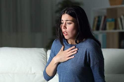 Чувство нехватки воздуха в груди при ВСД