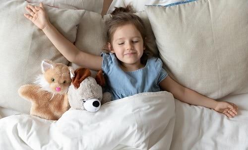 Сон помогает ребенку от головной боли